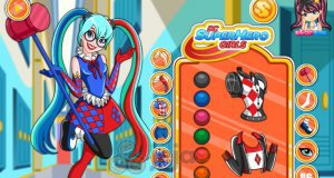 Harley Quinn z DC Super Hero