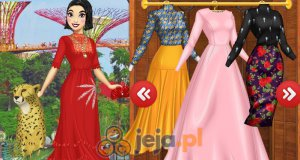Azjatyckie księżniczki Disneya