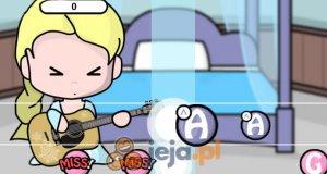 Elsa gra na gitarze