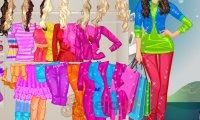 Barbie na zakupach