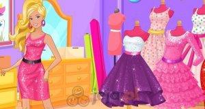 Barbie w centrum handlowym
