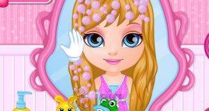 Mała Barbie na ślubie