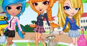 Dziewczyny w szkole