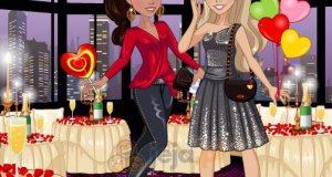 Zoe i Lily na walentynkowej randce