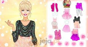 Błyszcząca Barbie