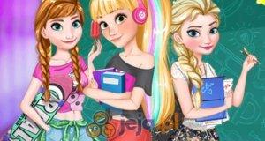 Dziewczyny Disneya wracają do szkoły