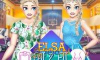 Elsa odchudza się na bal