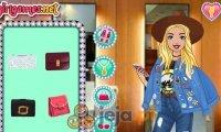 Barbie na urodzinach Roszpunki