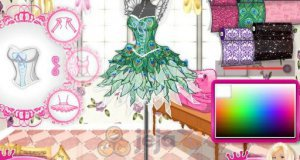 Barbie projektantka