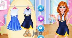 Księżniczki jako cheerleaderki