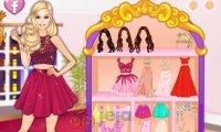 Barbie i dwuczęściowe sukienki