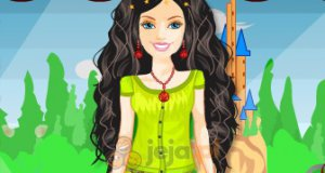 Wiosenna Barbie