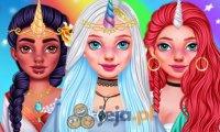 Księżniczki jako jednorożce