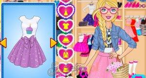 Barbie i dżinsowe ciuszki