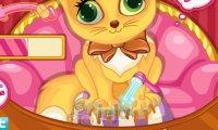 Manicure kotka