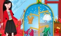 Księżniczki i świąteczne upominki