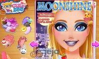 Barbie i makijaż na okładkę