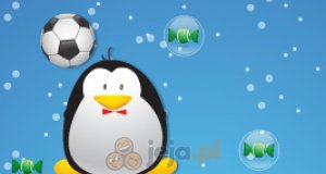 Łakomy pingwin