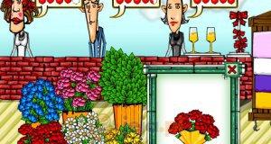 Sklep z kwiatami