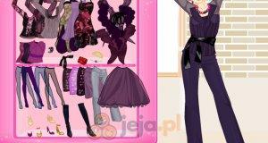 Purpurowy styl