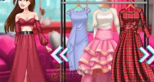 Dziewczyny na letnim pokazie mody