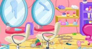 Sprzątanie salonu fryzjerskiego