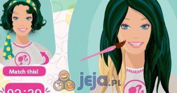 Fryzury Barbie Ubieranki Jejapl