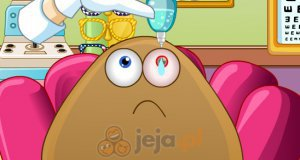 Pan Pou u okulisty
