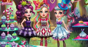 Ever After High i pyszny podwieczorek