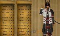 Kreator postaci: Samuraj