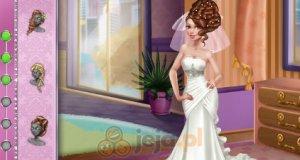 Amy i pokaz mody ślubnej