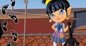 Dziewczynka dachowiec