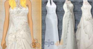 Ślubne kreacje bez dekoltu