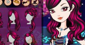 Makijaż Raven Queen