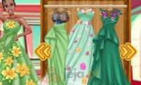 Kwiecisty strój księżniczki