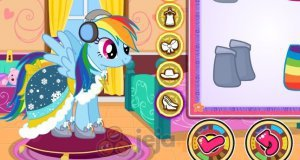 My Little Pony i zimowa moda