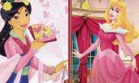 Mulan i Aurora - podobieństwa