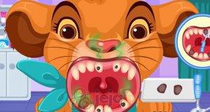 Bajkowe zwierzątka u dentysty
