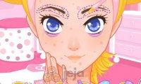 Makijaż w stylu Hello Kitty