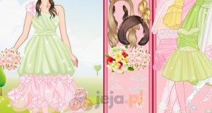 Suknie w pastelowych kolorch