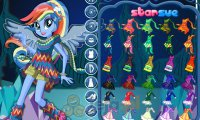 Rainbow Dash w lesie Everfree