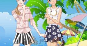 Dziewczyny na plaży