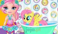 Mała Barbie fanką My Little Pony 2