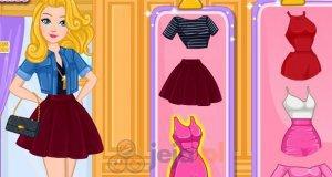 Super Barbie projektuje buty