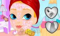Makijaż Apple White