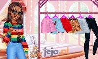 Księżniczki projektują swetry