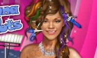 Zwariowana fryzura Rihanna