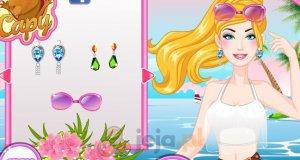 Letni makijaż Barbie