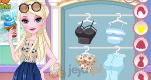 Elsa i Anna projektują okulary