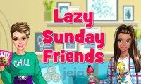 Leniwa niedziela przyjaciółek